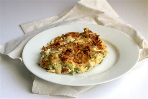 healthy green bean casserole recipe thanksgiving side dish