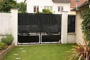 Brise Vue Plexiglass : brico pose d 39 un brise vue plasticane ~ Premium-room.com Idées de Décoration