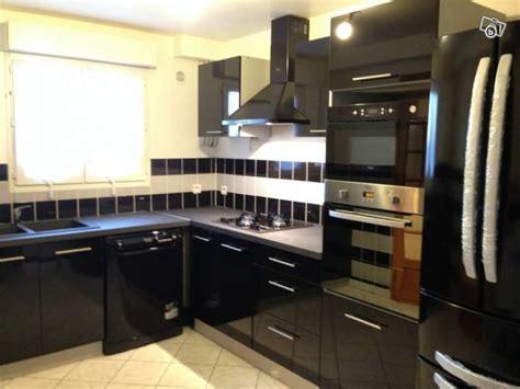 comparatif cuisine meuble de cuisine noir pas cher