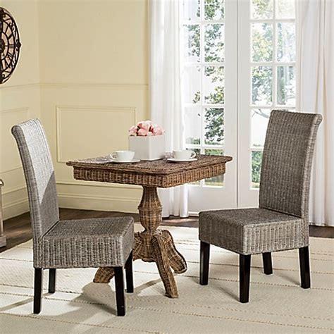 Safavieh Wicker Chairs by Safavieh Arjun Wicker Dining Chairs Set Of 2 Bed Bath
