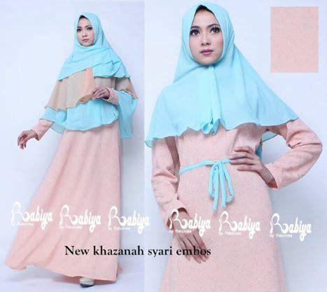 new khazanah baju muslim gamis modern