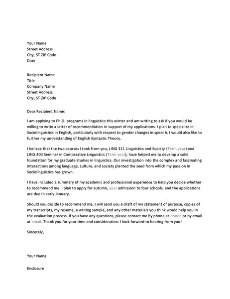 sle letter of recommendation for graduate school request letter recommendation graduate school sle 28 21734
