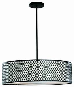 Acrylic diffuser tiers drum shade modern pendant ceiling