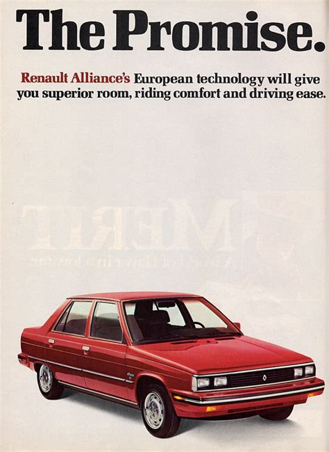 1984 renault alliance 1984 renault alliance information and photos momentcar