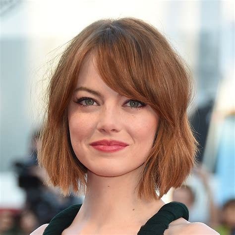 Emma Stones Haircut Summer 2014 Popsugar Beauty