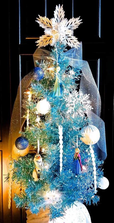 frozen christmas decorations 44 best disney s frozen themed christmas tree images on pinterest frozen christmas tree
