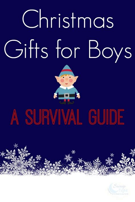 christmas gifts for boys a survival guide a magical mess