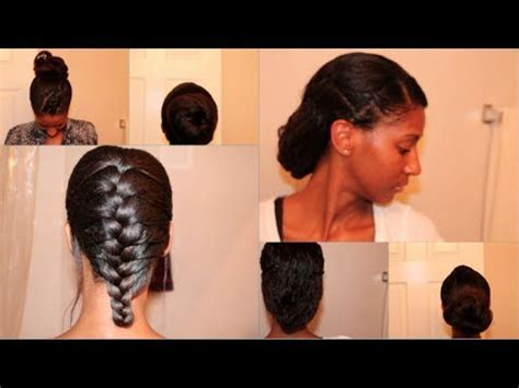 protective styles for permed hair 4 easy protective styles for relaxed texlaxed