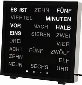 Uhr Mit Worten : wanduhr bin r g nstig kaufen mit erfahrungen von k ufern ~ A.2002-acura-tl-radio.info Haus und Dekorationen