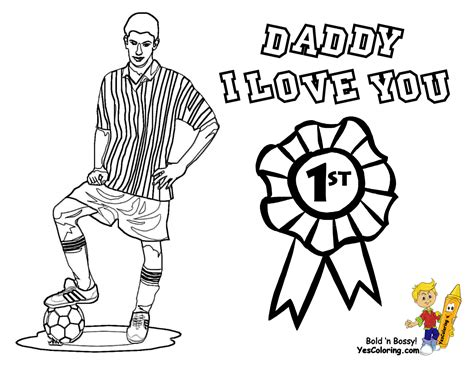 Cool Father Day Coloring Pages