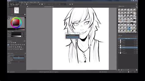 speed drawing ipad pro krita youtube
