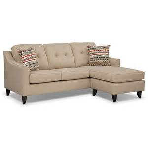 Chaise Sofa by Marco Cream Chaise Sofa Value City Furniture