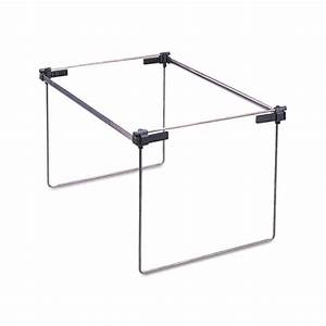 Hanging file folder drawer frames adjustable steel for Hanging file folder frames letter size
