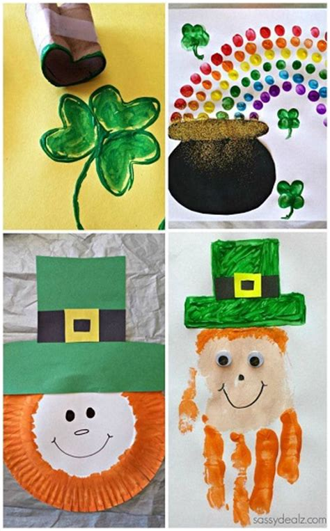 st patricks day crafts for preschoolers easy st s day crafts for crafty morning 812
