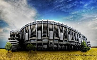 Madrid Stadium Wallpapers Bernabeu Santiago Desktop Widescreen