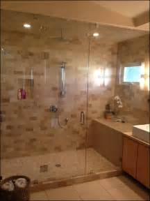 Glass Walk-In Showers without Doors