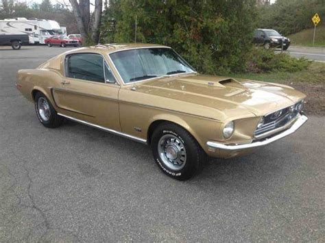 1968 Ford Mustang Gt For Sale  Classiccarscom Cc940923