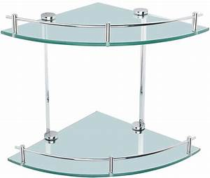 Etagere Murale Triangle : h tel de style salle de bains accessoires double triangle de niveau verre murale tag re d 39 angle ~ Teatrodelosmanantiales.com Idées de Décoration