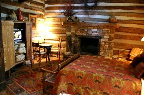 time log cabin interior