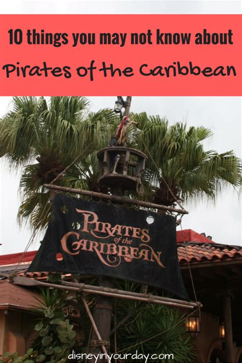 10 things you may not know about pirates of the caribbean