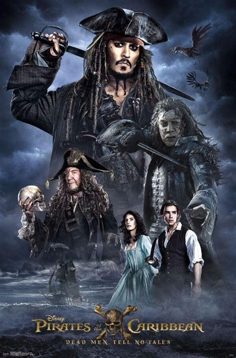 Jack Sparrow Is Back In New Promotional Posters For