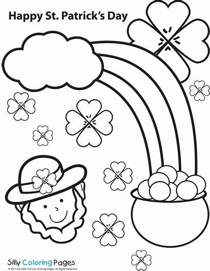 Coloring St Pages Patrick Patricks San Saint