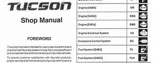 Hyundai Tucson 2006 2007 2008 Workshop Service Repair Manual