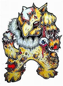 New Zombie Pokemon | DARYL HOBSON ARTWORK  Pokemon