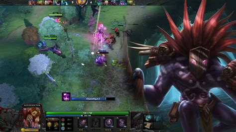 dota 2 gameplay 92 witch doctor support german youtube