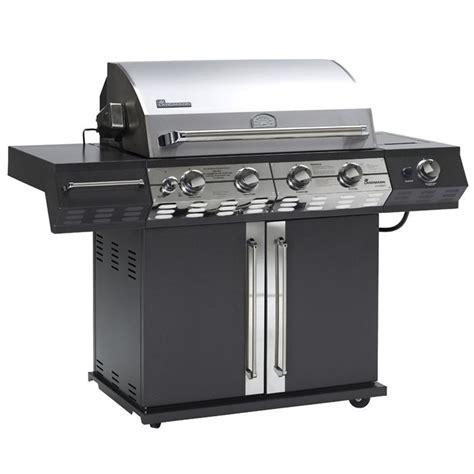 cuisiner avec barbecue a gaz landmann barbecue gaz avalon 3 1 avec 2 brûleurs