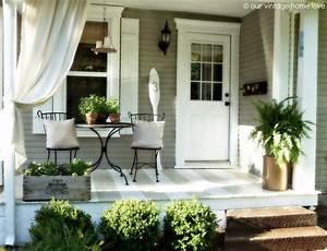 Front, Porch, Decorating, Ideas