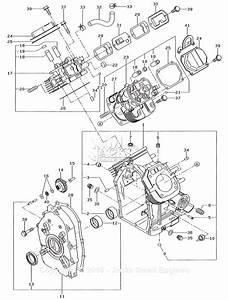 Robin  Subaru Rgv12100 Parts Diagram For Crankcase
