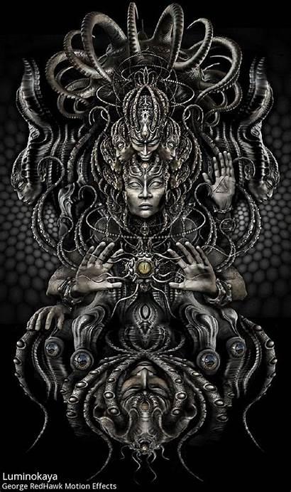 Psychedelic Gifs Digital Google Visionary Dark Meshuggah