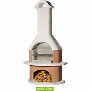 Barbecue En Dur : barbecue b ton fixe en dur exterieur jardin en pierre ~ Melissatoandfro.com Idées de Décoration