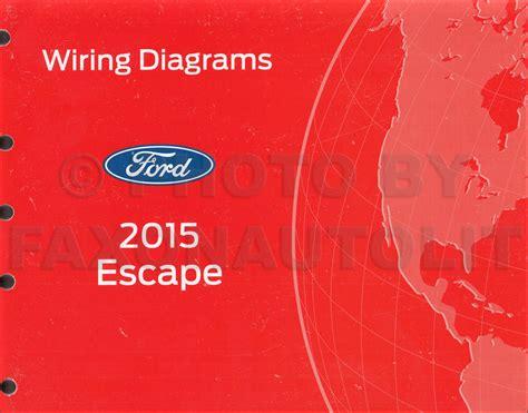 Ford Escape Wiring Diagram Manual Original