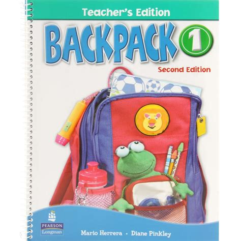 Pearson Copy Book Bag by Livro Backpack 1 Book Mario Herrera And Diane