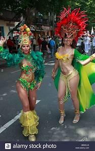 Germany Berlin Carnival of Cultures brazilian women in ...