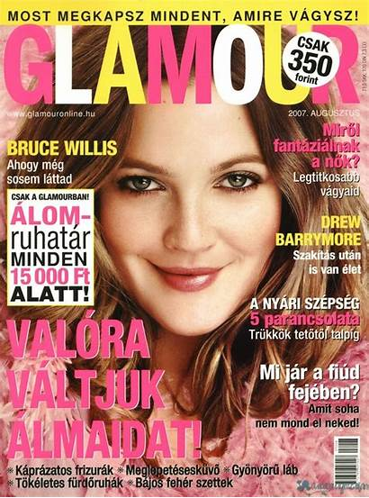 Drew Barrymore Magazine Hairstyle Trends