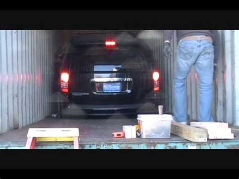 mission impossible loading  large cars   container