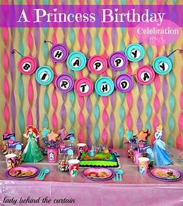 A Princess Birthday Celebration