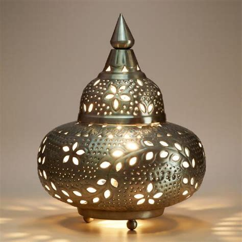 moroccan punched metal l small moroccan punched metal l world market