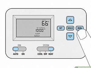 Carrier Air Conditioner Thermostat Instructions