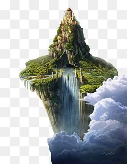 floating island png images vector  psd files