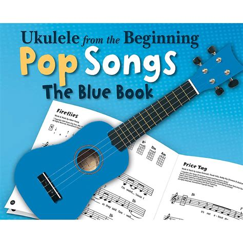 In 1936, the popular gem series of music books changed from ukulele chords to guitar chords. Music Sales Ukulele from the Beginning - Pop Songs (The Blue Book) Ukulele Series Softcover ...