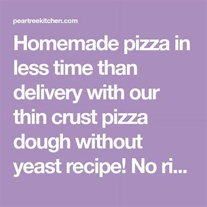 Pizza Concrete Dough Naturally Yeast Thin Cement
