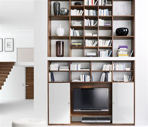 Contemporary Bookcases And Shelves by Luxury Contemporary Bookcases Cubus Team 7 Wharfside