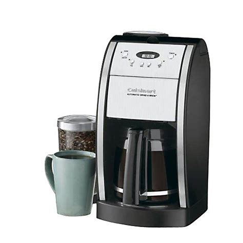 Cuisinart DGB 550BK Premier Coffee Series Grind/Brew Automatic 12 Cup Coffee Maker   Shop Your