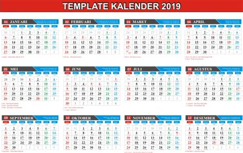 kalender indonesia calendar printable