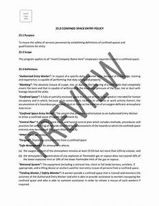 Contractor Construction Safety Program Template Bc I Gg