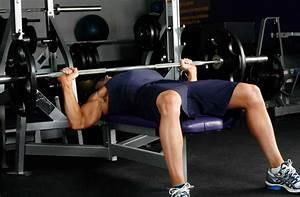 Flat Barbell Bench Press • Bodybuilding Wizard
